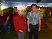 Werner McGill mit Heinz im Alpenbahnparadies in Schlieren